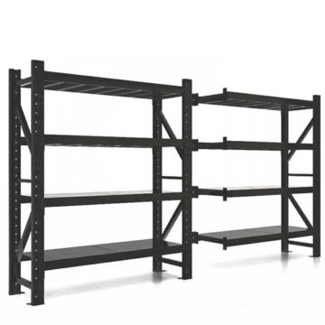Green Epoxy Coated Commercial 5 Shelves Wire Metal Mushroom Growing Storage Rack