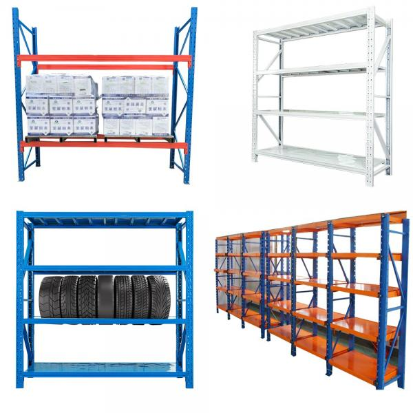5 Tier Chrome Plated Steel Slanted Wire Shelving Unit for Freezer Display